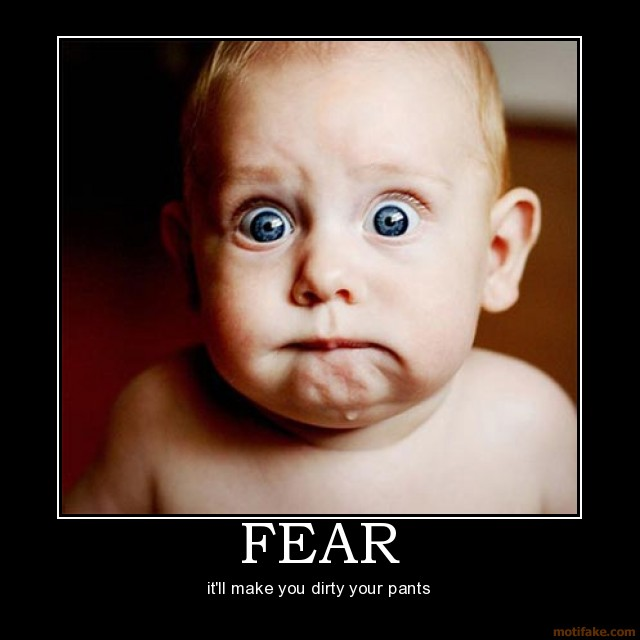 Fear is a Fight or Flight reaction.  Causes Cortisol and that causes Plaque
