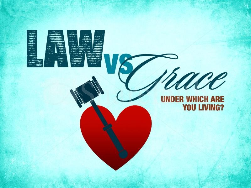 Law vs Grace (fonte: internet)